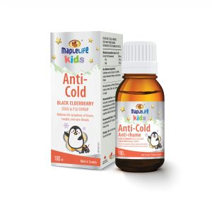 MapleLife Kids Anti-cold Black elderberry cold & Flu Syrup 100ml