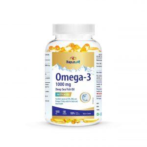 MapleLife Omega-3 Deep Sea Fish Oil 1000mg 180 softgels