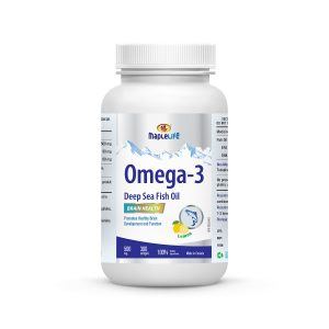 MapleLife Omega-3 Deep Sea Fish Oil 500mg 300 Softgels
