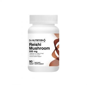 Dr Nutrition Reishi Mushroom 500mg 90 Vegetable Capsules