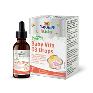 MapleLife Kids Vegan Baby Vita D3 Drops 30 ml