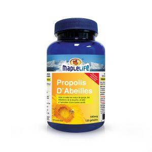 MapleLife Propolis D'abeilles 500mg 120 gelules