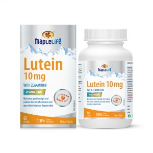 MapleLife Lutein 10mg 60 softgels