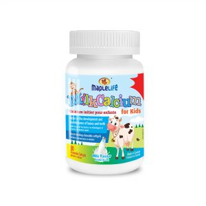 MapleLife Milk Calcium for Kids 90 chewable softgels