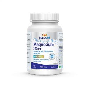 MapleLife Magnesium 200mg 90 Capsules