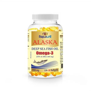 MapleLife Omega 3 Fish oil 1000mg 180 Softgels