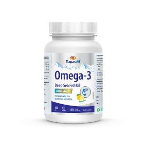 MapleLife Omega-3 Deep Sea Fish Oil 500mg 100 softgels