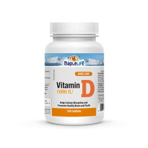 MapleLife Vitamin D 1000UI 100 tablets